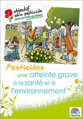 Brochure pesticides: une attentie grave