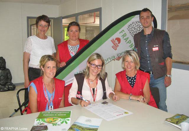Auchan Villars signe la charte