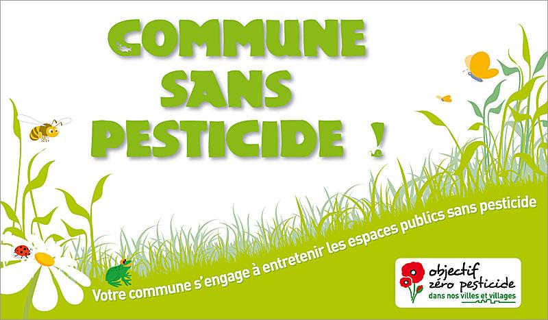 label Commune sans pesticide