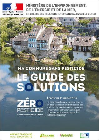 Guide Zéro pesticides pour les communes