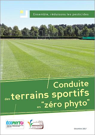plaquette sur la conduite des terrains sportifs en zéro phyto